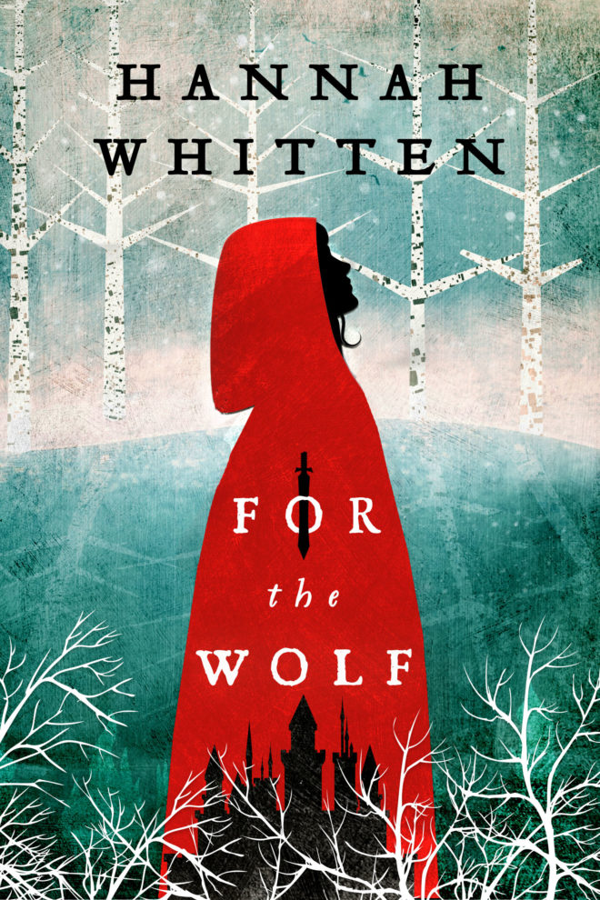 for the wolf book cover image of redi riding hood in the woods