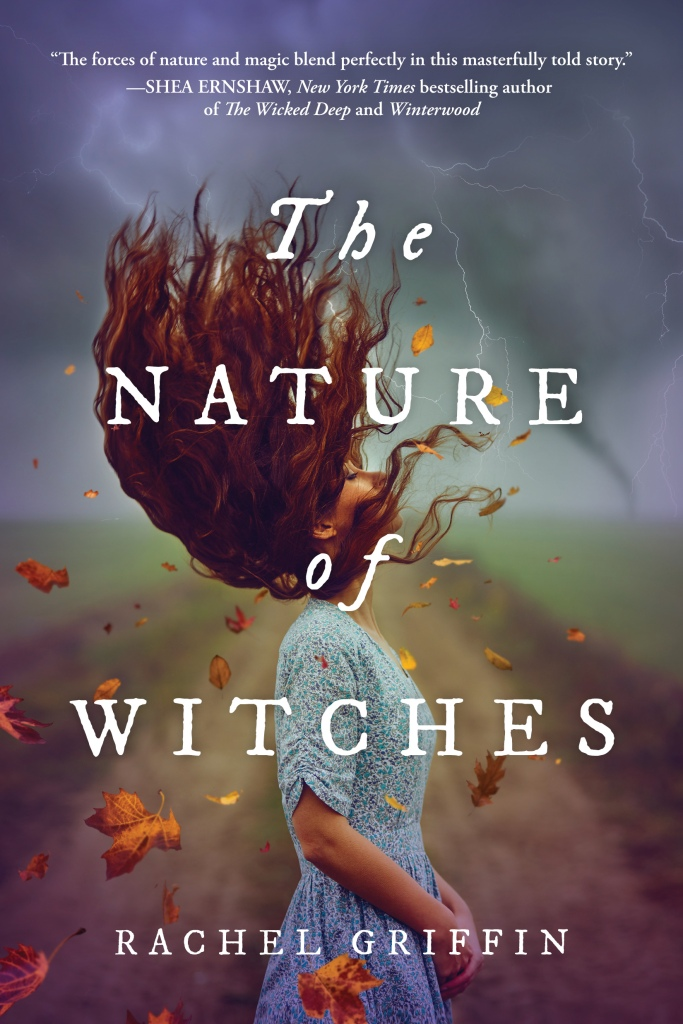 the nature of witches cover art featuring a white girl controlling the weather with her mind